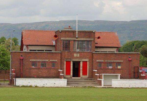 Pavilion Adamslie Park, Kirkintilloch